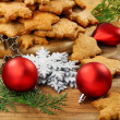 Christmas ginger biscuits. — Stock Photo #6953916