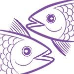 Постер, плакат: Zodiac signs Pisces