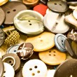 Clothing buttons collection — Stock Photo