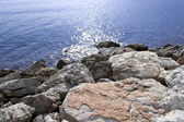 Rocks by the sea — Stock Photo
