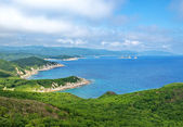 The southern coast of the Japan sea, Primorsky krai. — Stock Photo