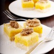 Stock Photo: Lemon bars