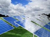 Photovoltaic — Stockfoto