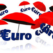 Euro bailout fund — Stock Photo