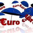 Euro Bailout Fond — Stock Photo