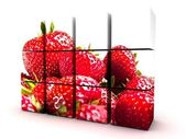 Strawberry Cube — Foto Stock