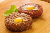 Steak tartar — Stock Photo