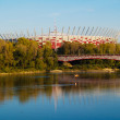 Stock Photo: National stadium, Warsaw, Poland