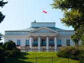 Belweder, Warsaw, Poland — Stock Photo