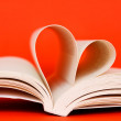 Reading with love - Stock Photo
