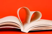 Reading with love — Stock Photo