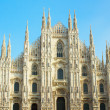 Cathedral of Milan, Italy — Foto Stock