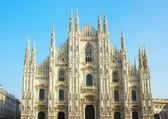 意大利米兰大教堂 — 图库照片