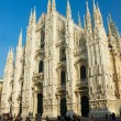 Stock Photo: Cathedral of Milan, Italy
