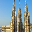 Spires of Milcathedral — Stock Photo #7843695