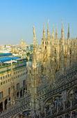 ミラノ大聖堂の尖塔 — ストック写真