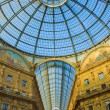 Galleria Vittorio Emanuele, Milan, Italy — Stock Photo