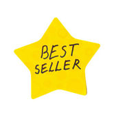 Best seller sticker — Stock Photo