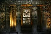 Buddha in Ajanta Caves — Stock Photo