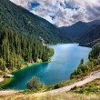 Mountain lake Kolsai in Kazakhstan — Stock Photo #6761873