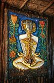 Kundalini awakening sculpture — Zdjęcie stockowe