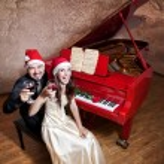 Christmas party — Stock Photo