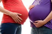Pregnant womans — Stock Photo