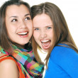 Two girls — Stock Photo #7943490