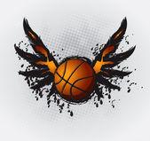 Basketball Design Element 1 — Stock Vector