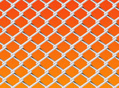 Chain Link Fence Set 2 — Stok Vektör