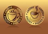 Coffee Logo — Stock Vector