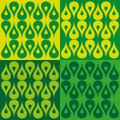 Conjunto de elementos de diseño ecología 3 — Vector de stock