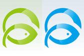 Fish Power — Stock Vector