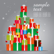 Gift Tree - Stock Vector