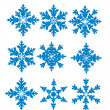 Vector Snowflakes — Stock Vector #7163431