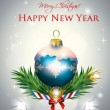 Royalty-Free Stock Imagen vectorial: Christmas Decoration Card