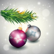 Royalty-Free Stock ベクターイメージ: Christmas Decoration Card