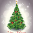 kerstboom — Stockvector  #7401925