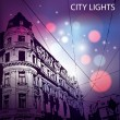 city lights — Stock Vector