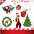 Royalty-Free Stock Imagen vectorial: Christmas Items