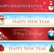 Christmas Banners - Stockvectorbeeld
