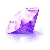 Vector diamond — Stock Vector