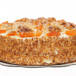Постер, плакат: Cake with Apricot and Walnuts