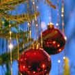Christmas tree ornaments — Stock Photo #6850942