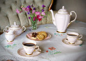 Coffee table — Stock Photo