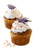 Fall cupcakes — Stock Photo