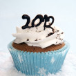 Royalty-Free Stock Photo: 2012 cupcake