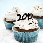 2012 cupcakes — Stock Photo #7208245