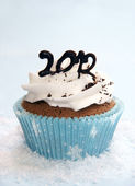 2012 cupcake — Stock Photo