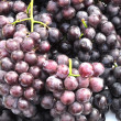Stock Photo: Red grapes